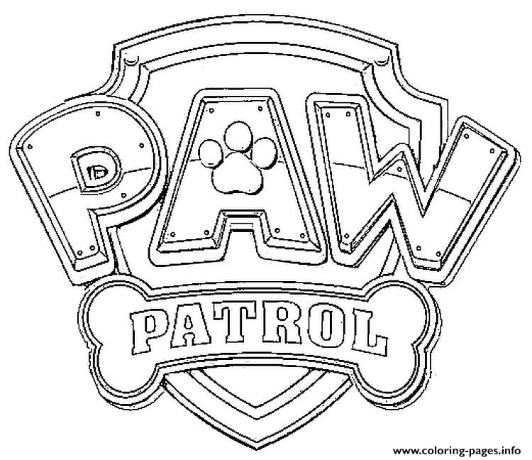 Magnificent Ideas Printable Paw Patrol Coloring Pages Paw Patrol