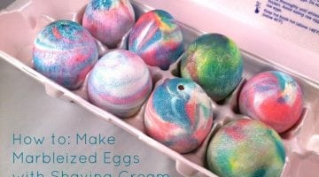Coloring Easter Eggs With Food Coloring