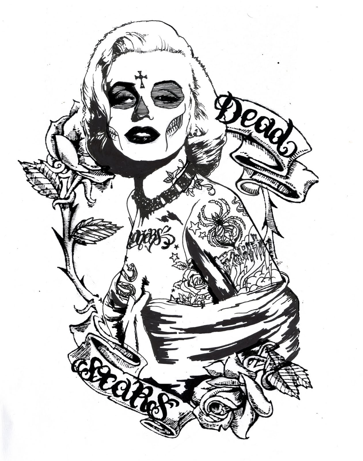 Marilyn Monroe Coloring Pages Gobel Page And
