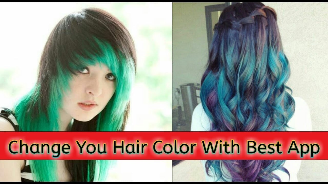 Hair Color Changer Best App, How To Change Hair Color With Best