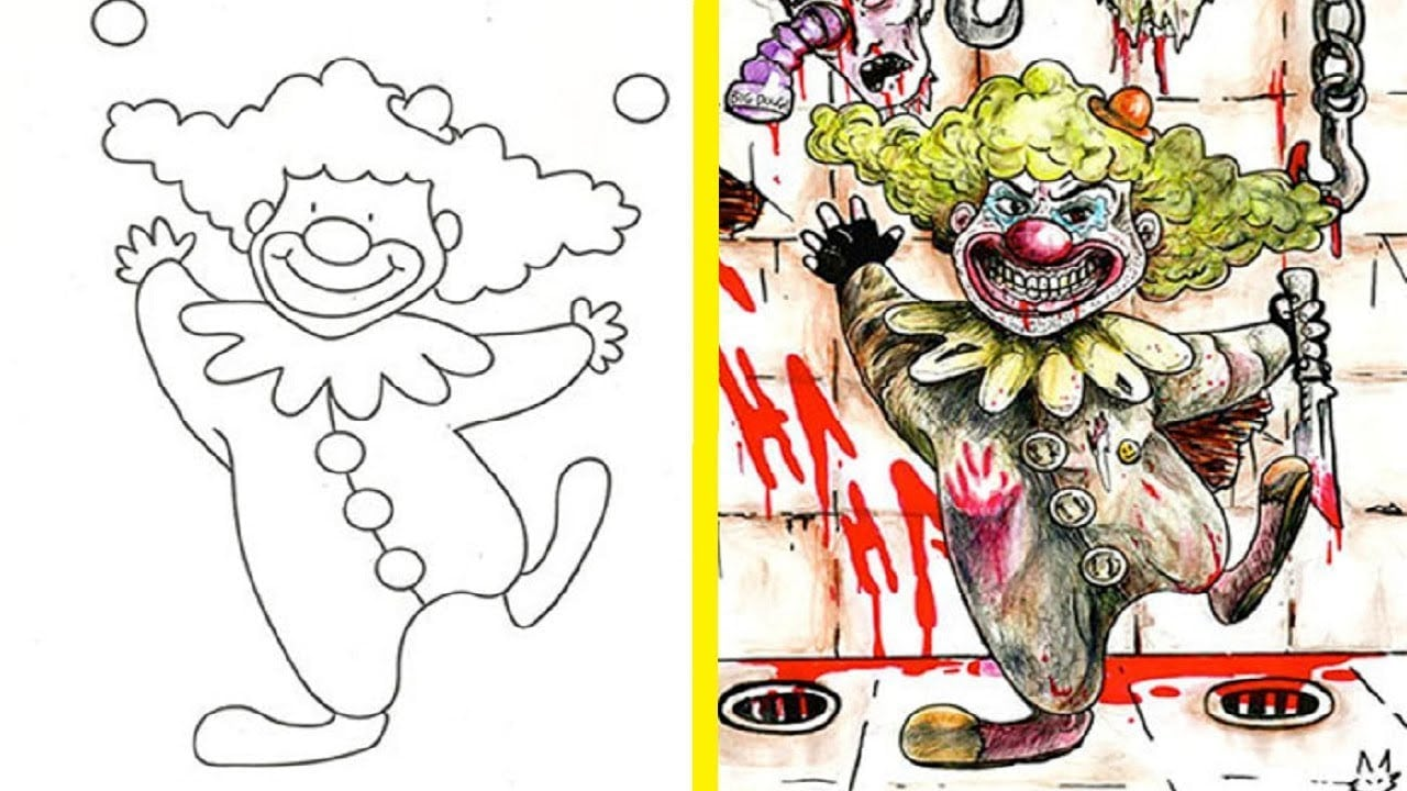 The Most Disturbing And Inappropriate Coloring Book Corruptions