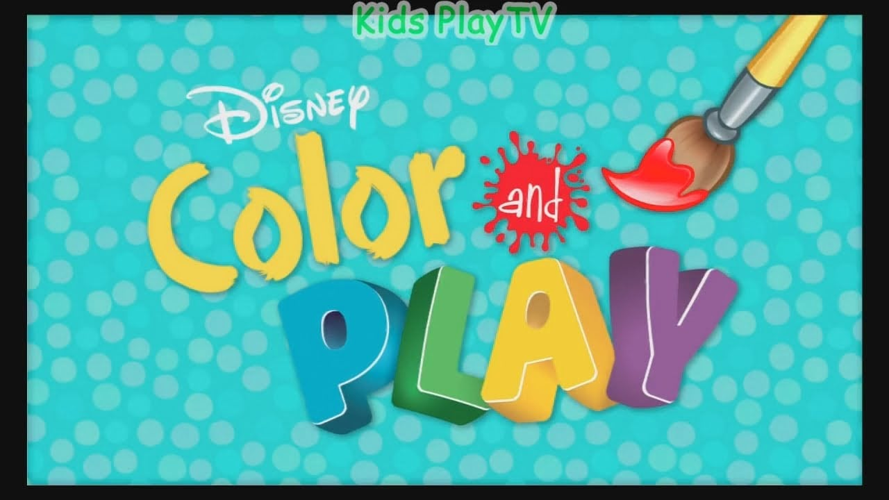 Disney Color And Play App Kids