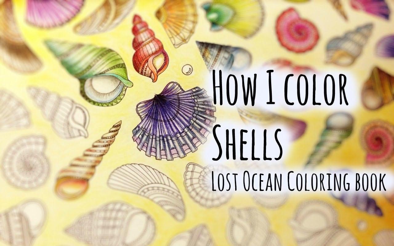 Lost Ocean Coloring Book Johanna Basford