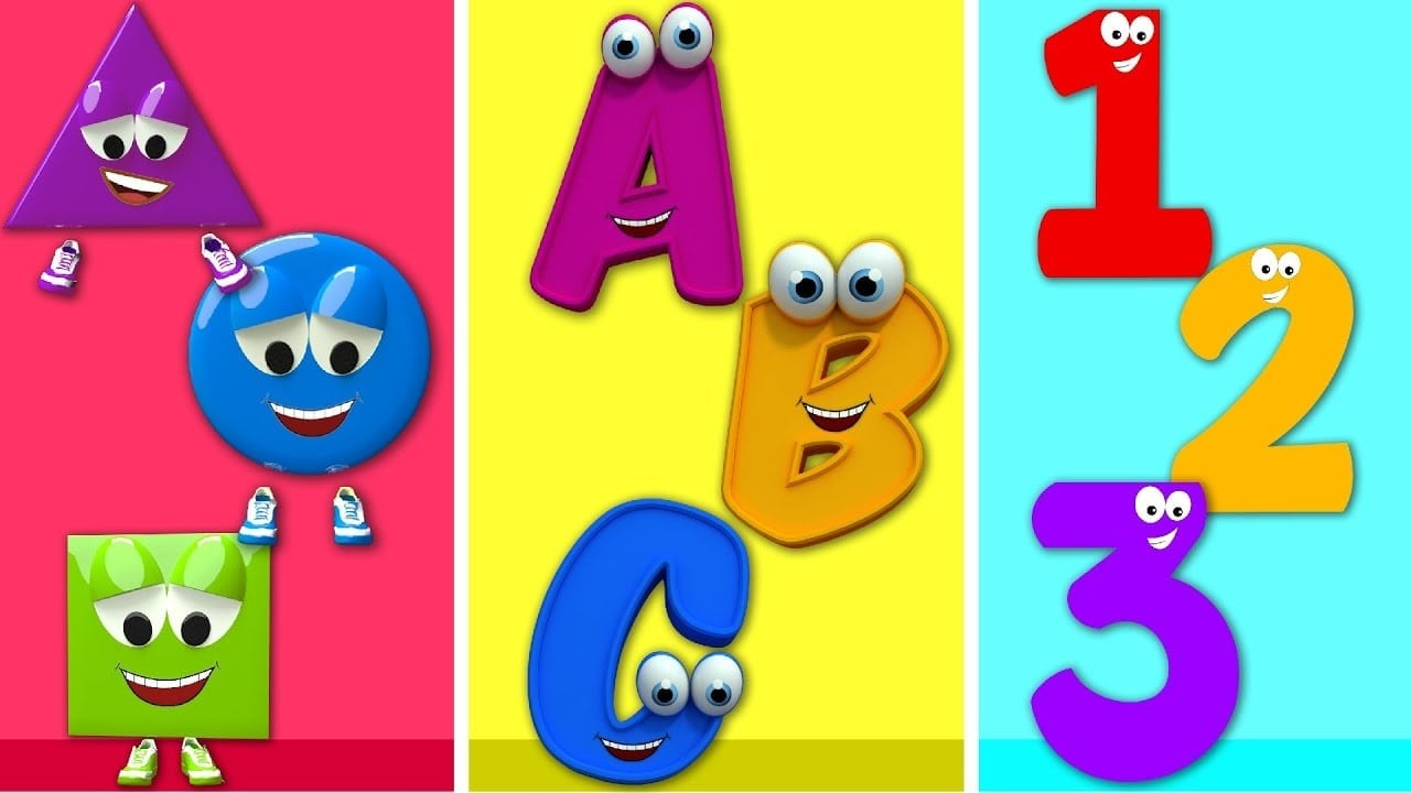 Shapes And Color Games For Kids