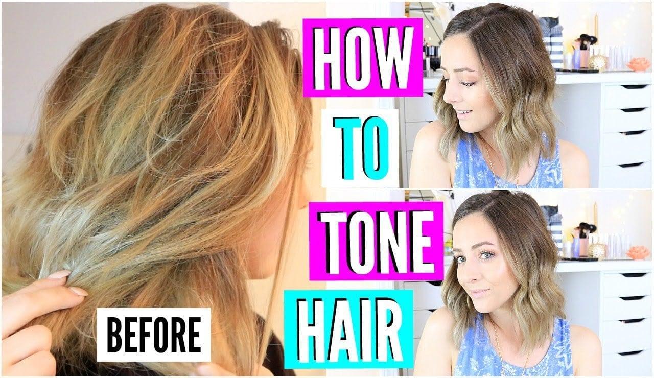 Diy Hair Toner For Brassy Blonde Hair!