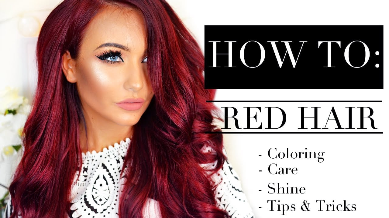 ❤ How To  Red Hair