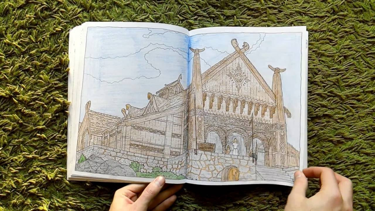 Lord Of The Rings Movie Colouring Book
