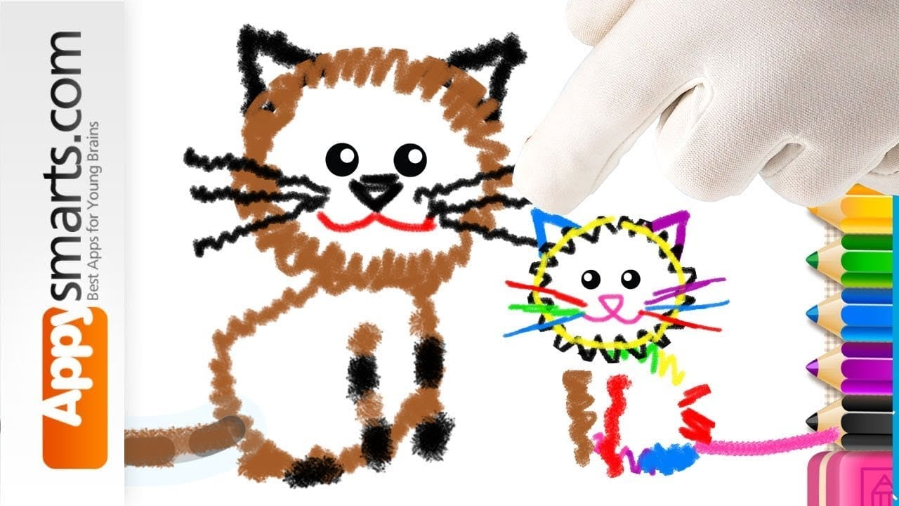 Free Toddler Coloring App For Ipad, Iphone And Android By Bini