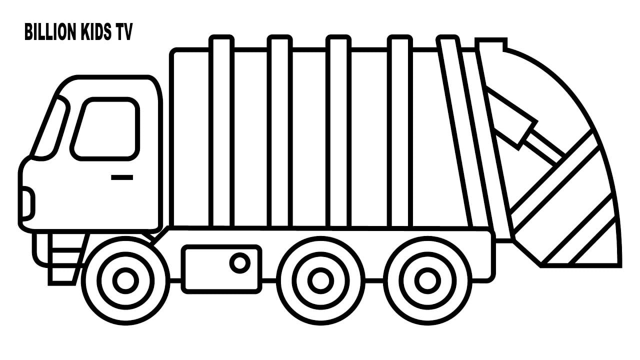 Maxresdefault In Garbage Truck Coloring Pages