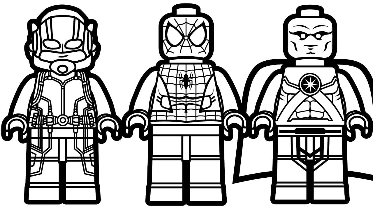 Maxresdefault On Lego Spiderman Coloring Pages For