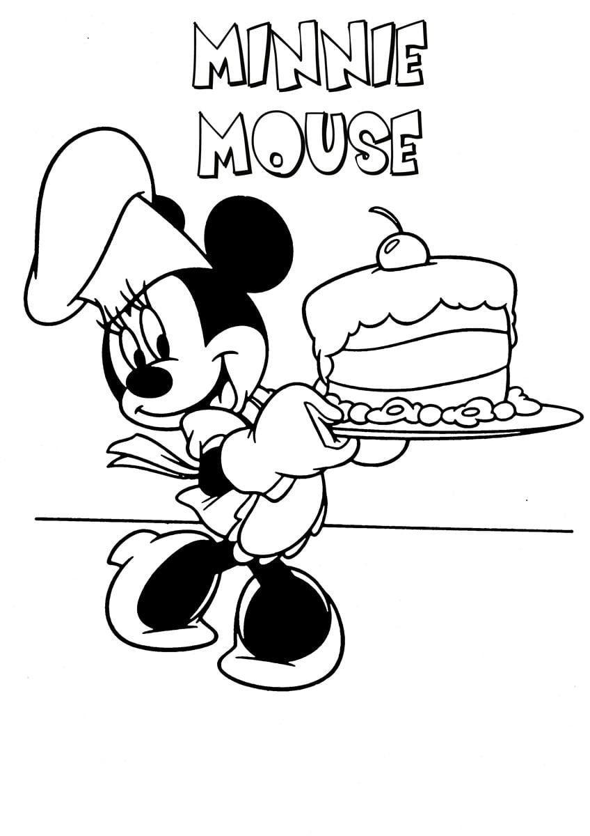 Mickey Mouse Coloring Page 19 And Pages Pdf