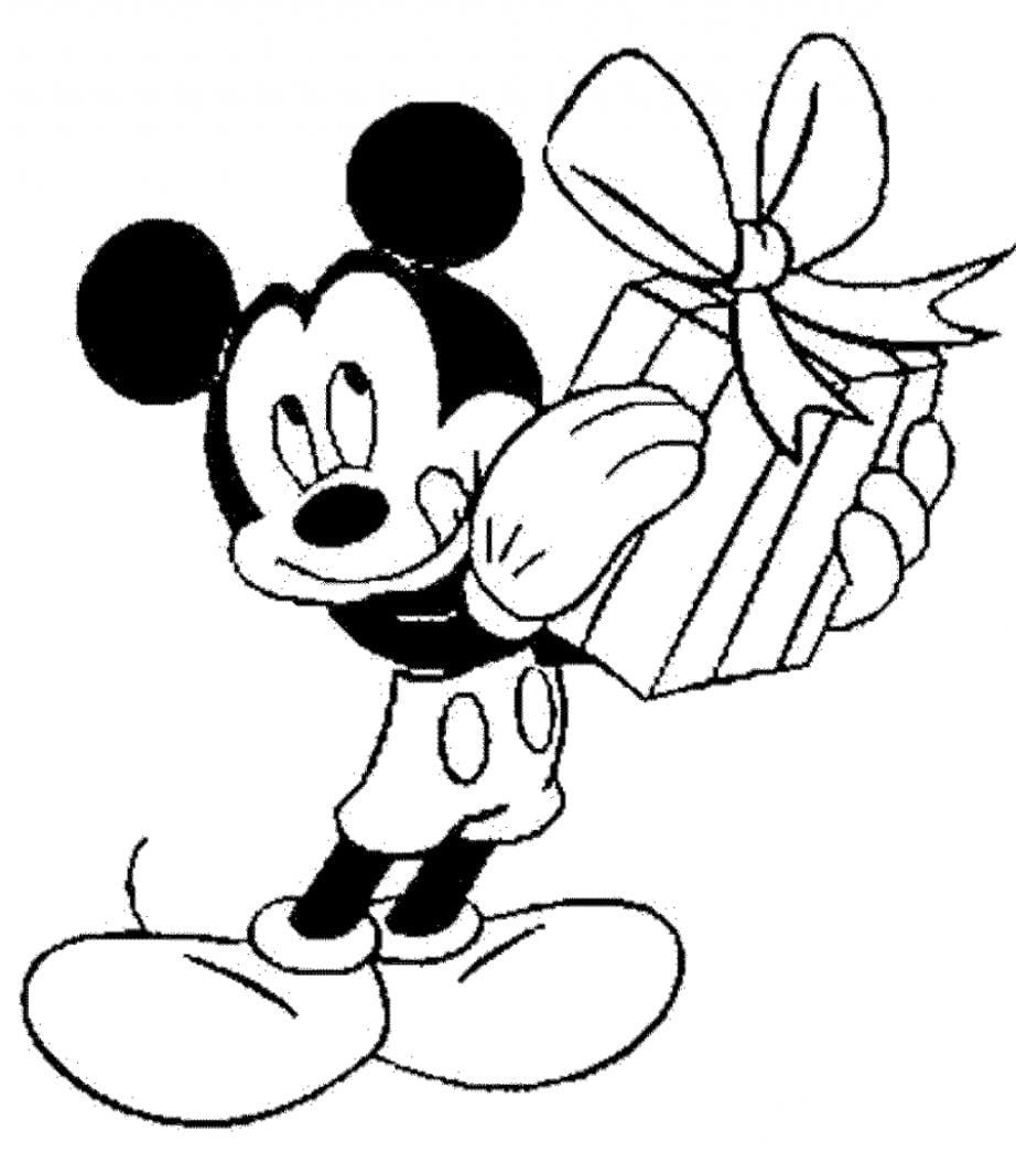 Mickey Mouse Coloring Pages Pdf