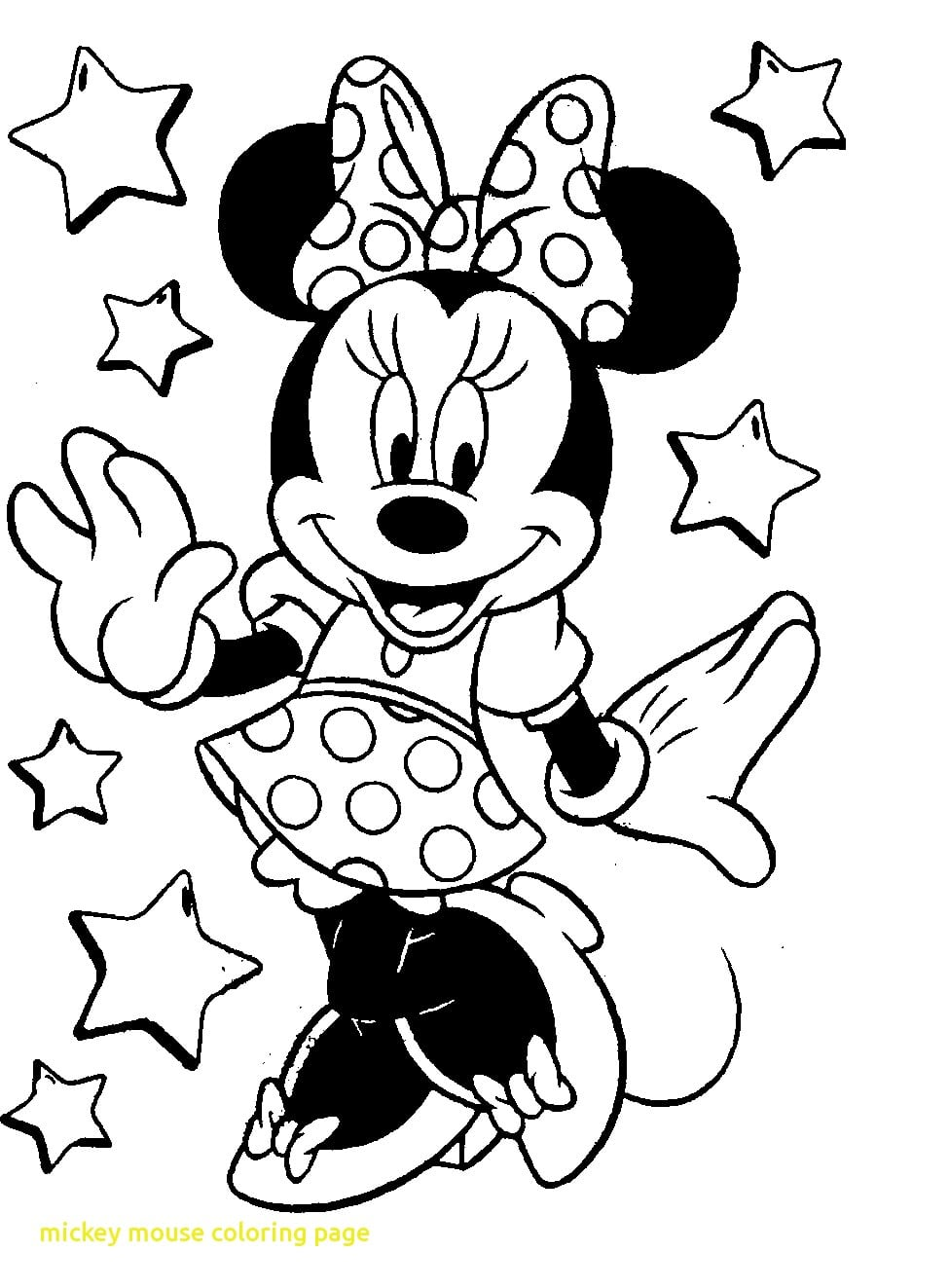 Mickey Mouse Coloring Pages Pdf Page With 27 9435 Unknown Best Of