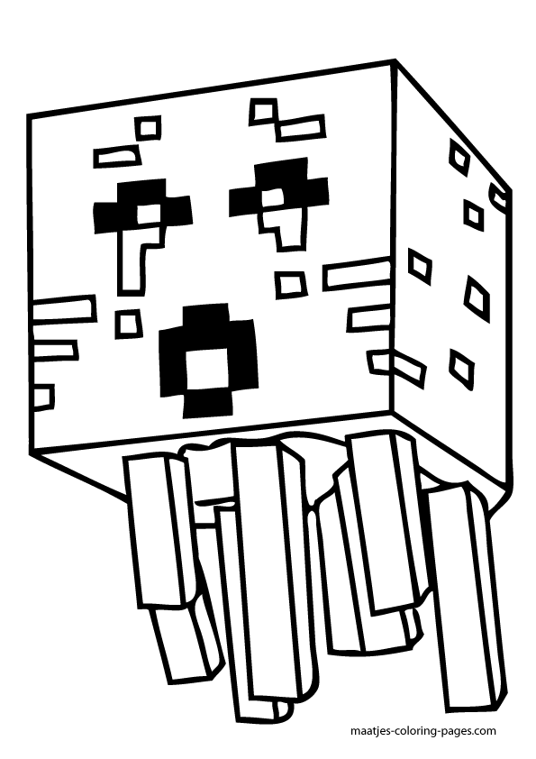 Stylish Design Minecraft Coloring Pages Minecraft Coloring Pages