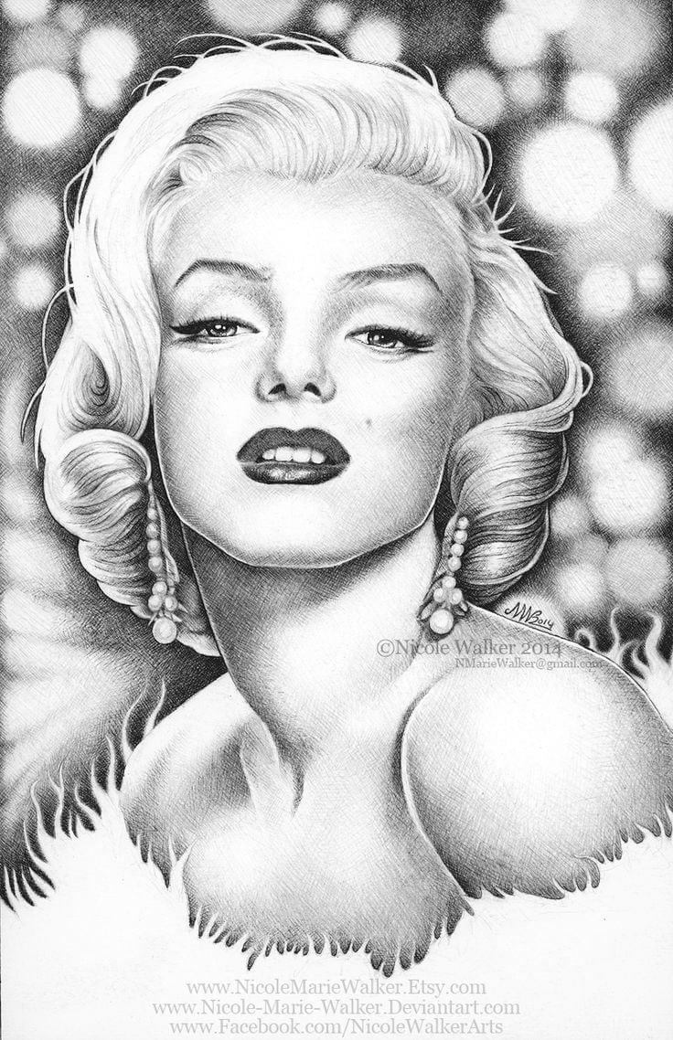Monroe Coloring Pages Best Of Marilyn