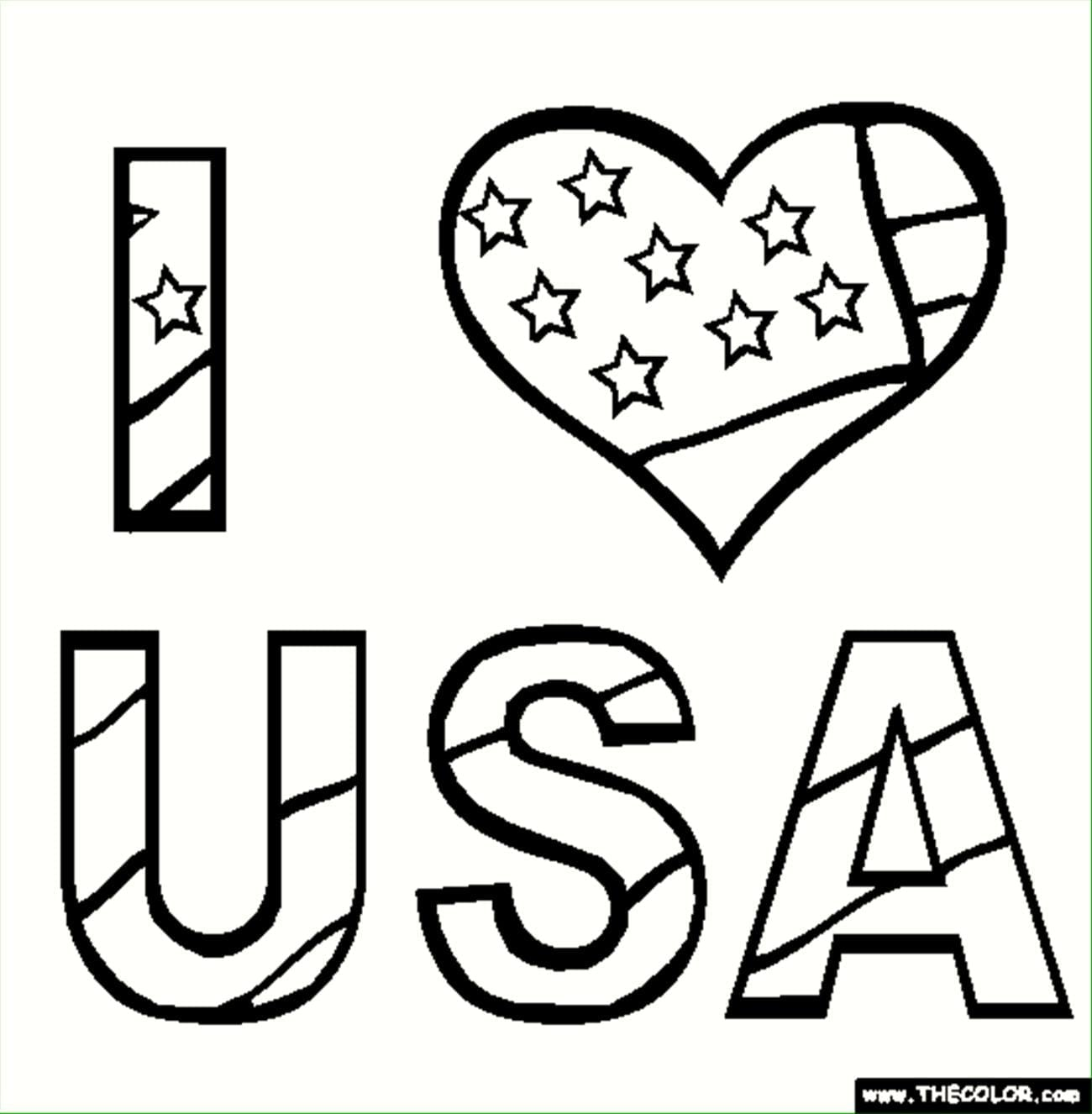 Monumental Free Fourth Of July Coloring Pages  3047