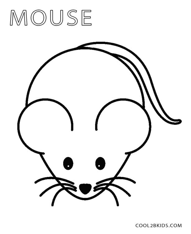 Mouse Coloring Page Mouse Coloring Pages Trend Mouse Coloring Page