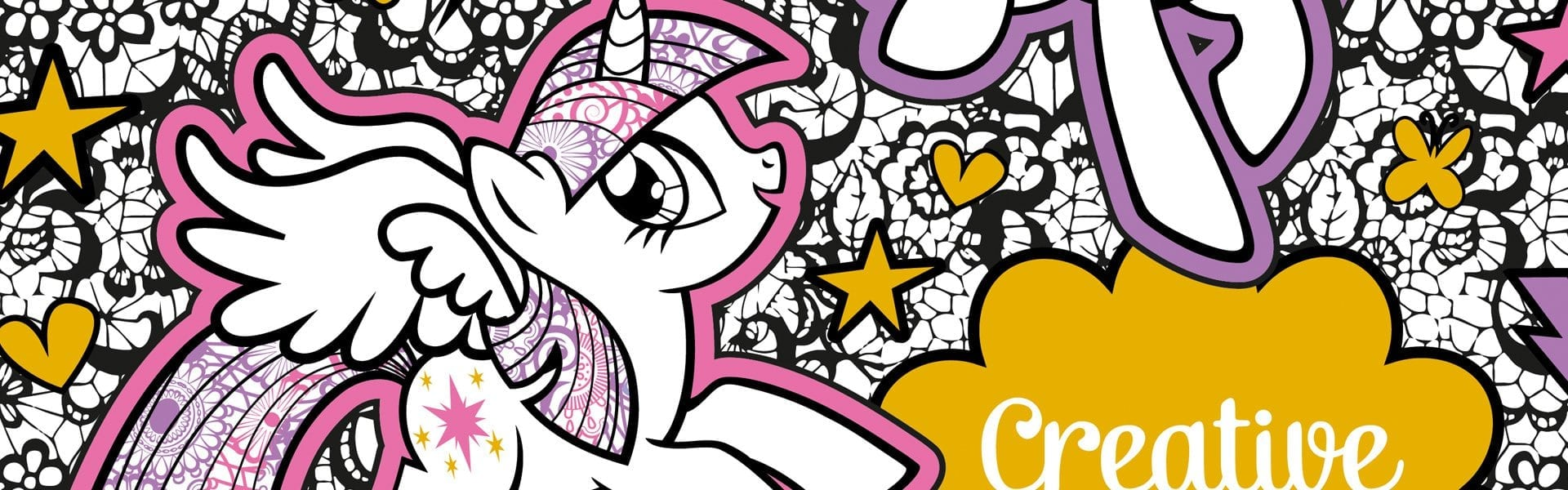 My Little Pony  Creative Colouring Book Free Pattern Download