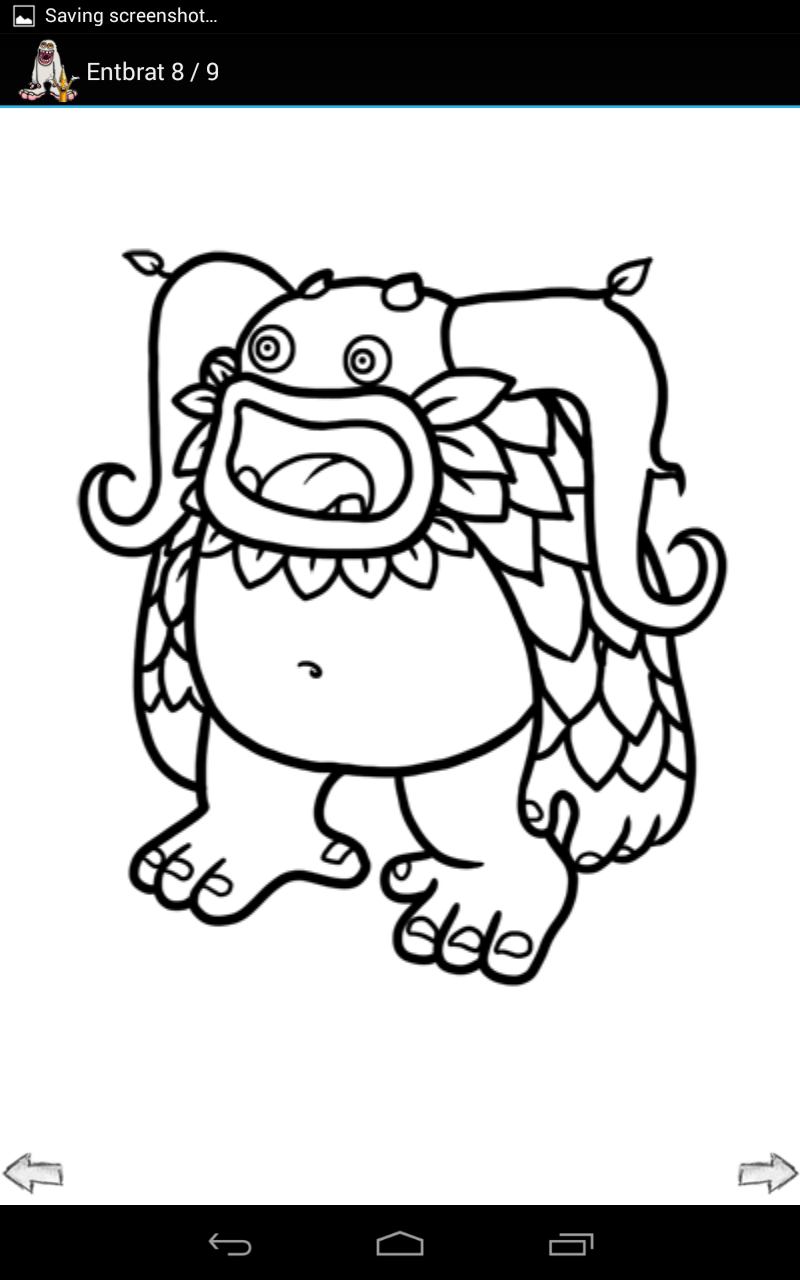 My Singing Monsters Coloring Pages Favorite Places Spaces With