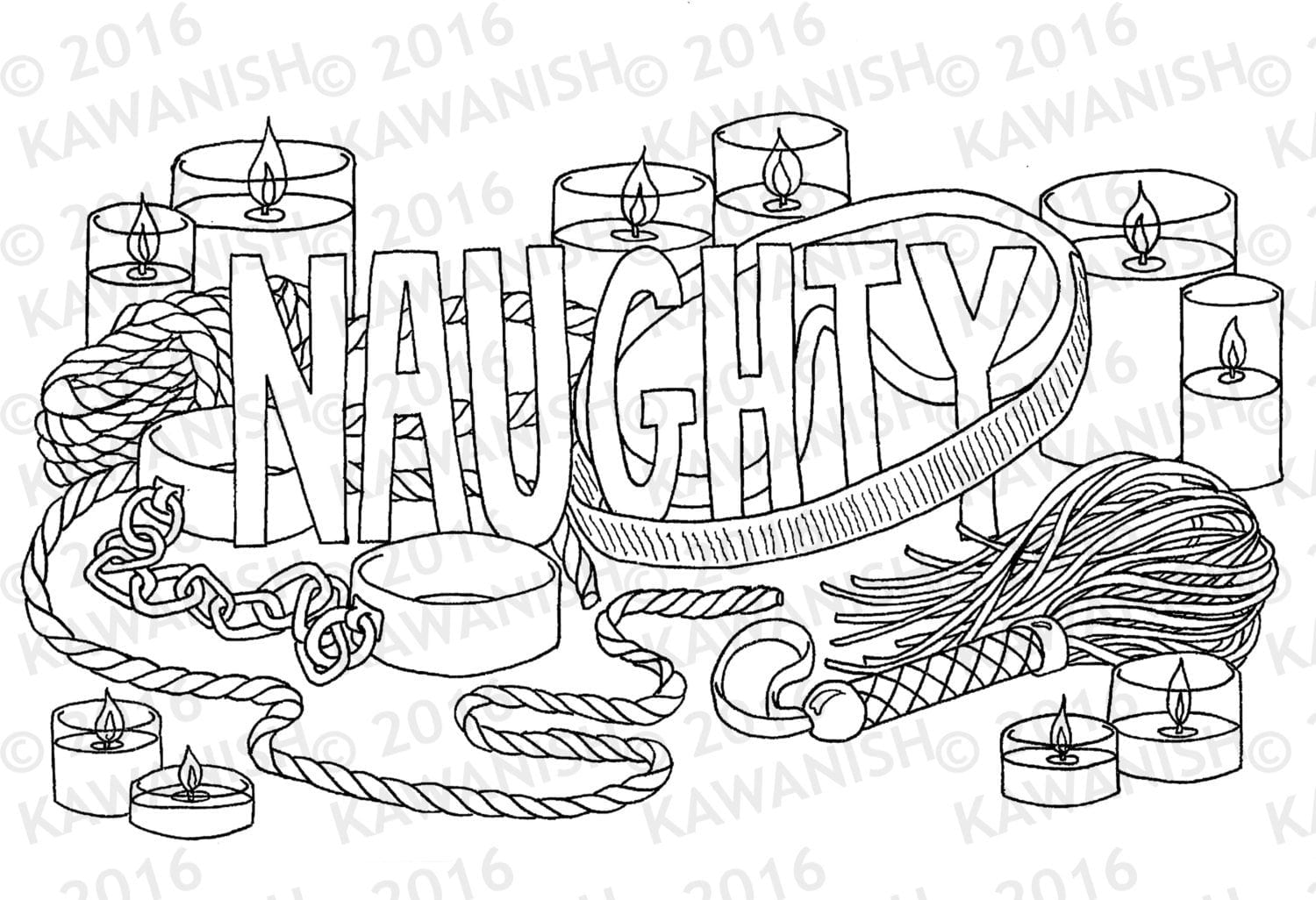 Naughty Coloring Pages For Adults Gallery