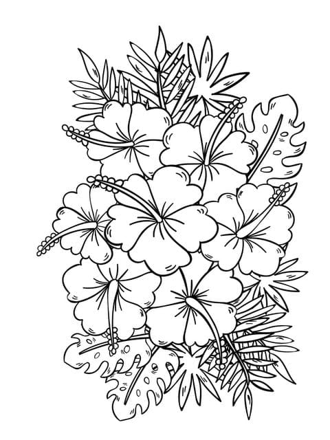 New Coloring Book Flowers Preschool To Good Superb Coloring Book