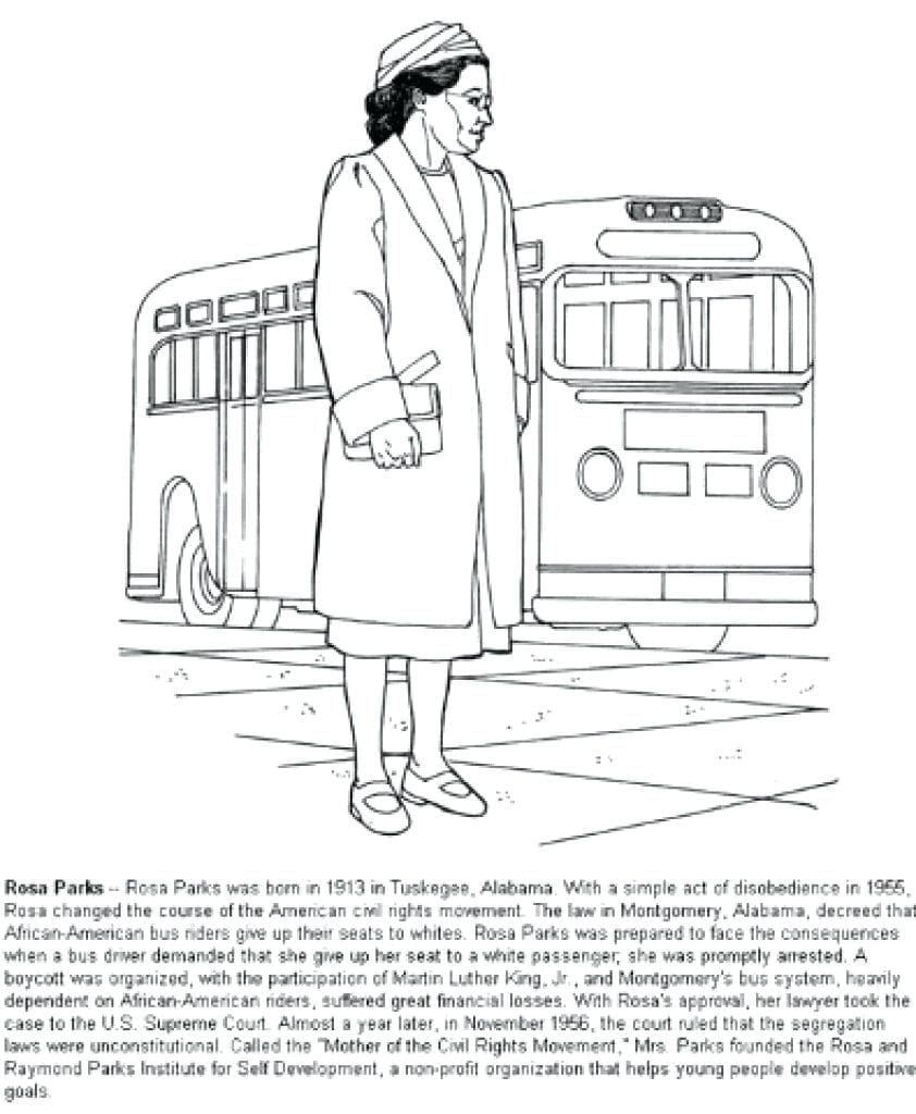 New Rosa Parks Coloring Page 27 842×1024 11 6