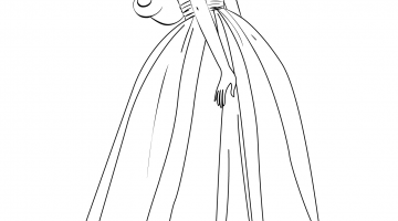 Coloring Pages Barbie