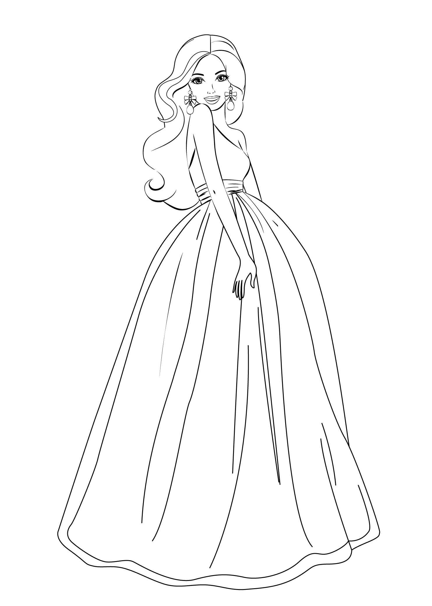 Refundable Barbie Pics To Print Coloring Pages Out For Girls Free