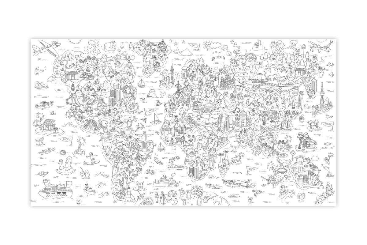 The Youngstersgiant Coloring Atlas