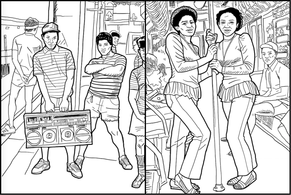 New Coloring Book Celebrates Nyc's Old