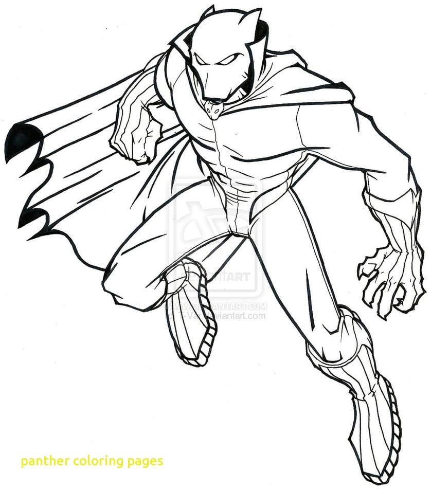 Panther Coloring Pages With Coloring Books Black Panther Coloring