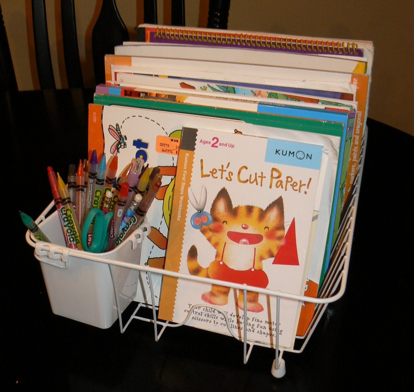 Perfect Coloring Book Storage