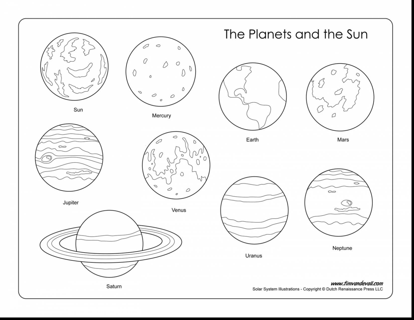 Jupiter Coloring Pages  9891