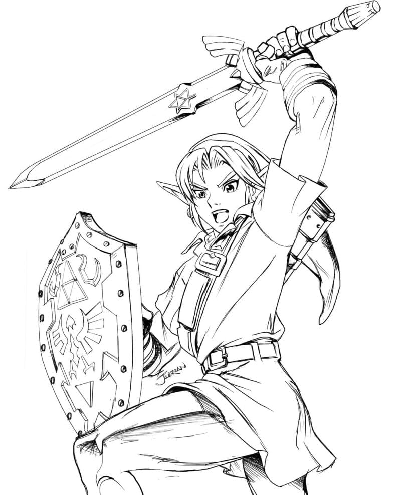 Pictures Of Photo Albums Zelda Coloring Pages At Coloring Book Online