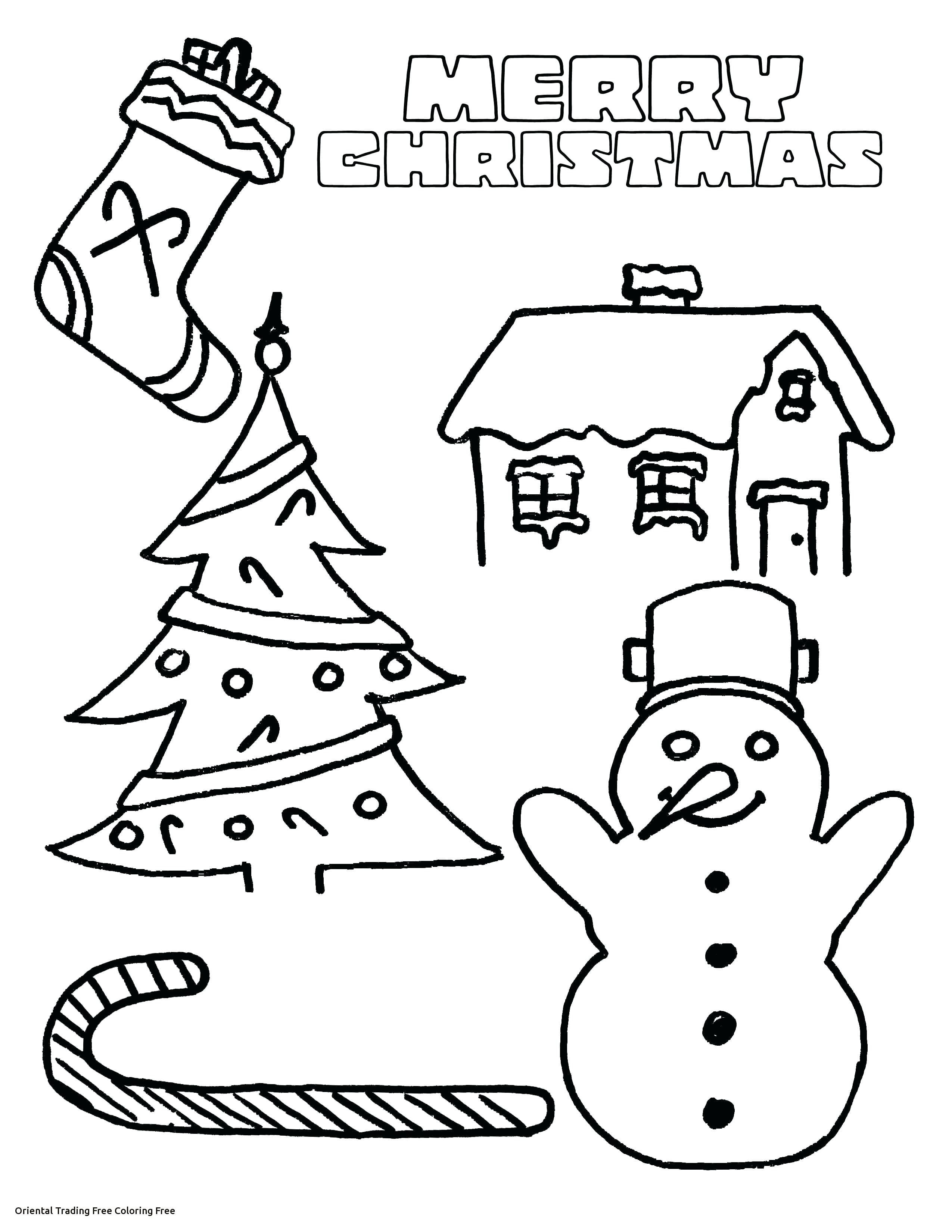 Pioneering Oriental Trading Coloring Pages Fresh Christmas For