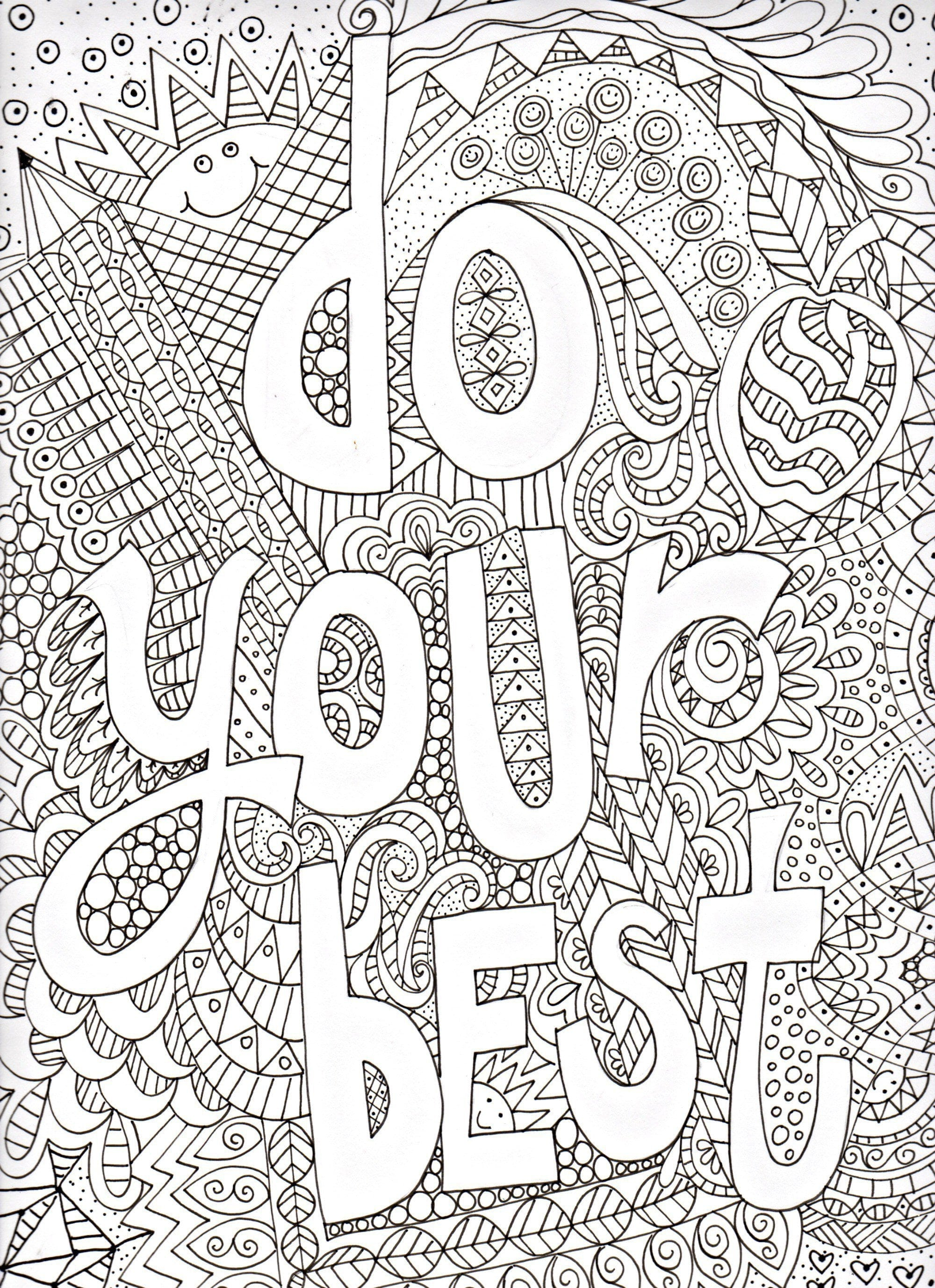 Awesome Ideas Inspirational Coloring Pages Marvelous Free