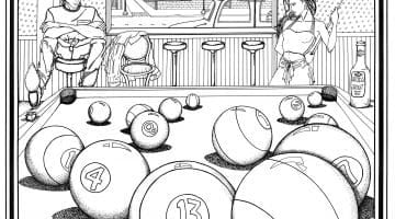 Adult Themed Coloring Books