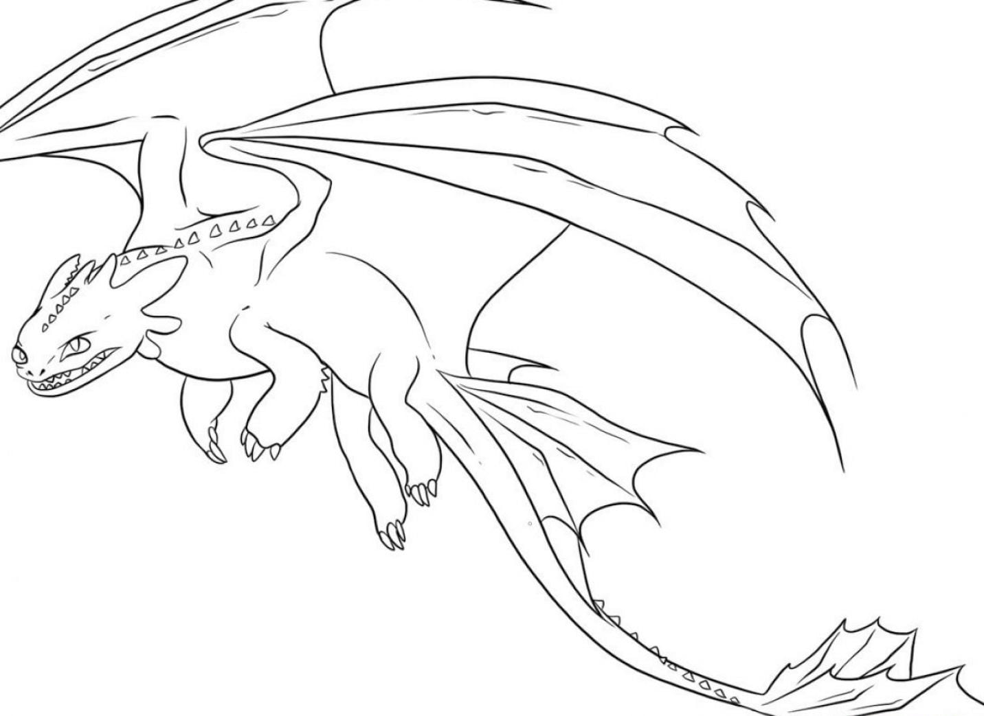 Printable Dragon Coloring Pages 13 With Printable Dragon Coloring