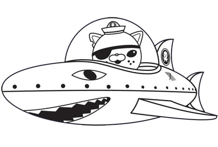 Printable Octonauts Coloring Pages Printable Octonauts Coloring