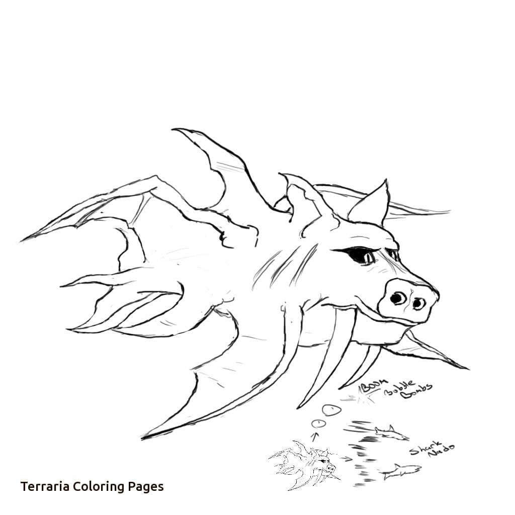 Terraria Coloring Pages Printable