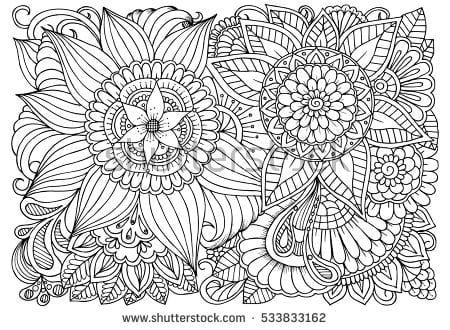 Coloring Therapy For Adults