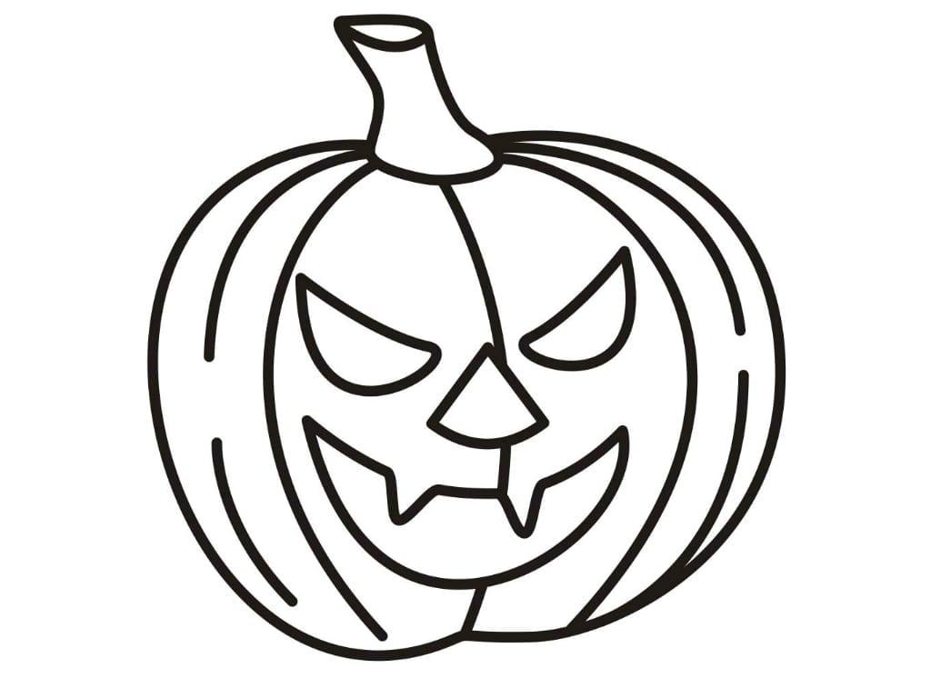Coloring Pages Pumpkin