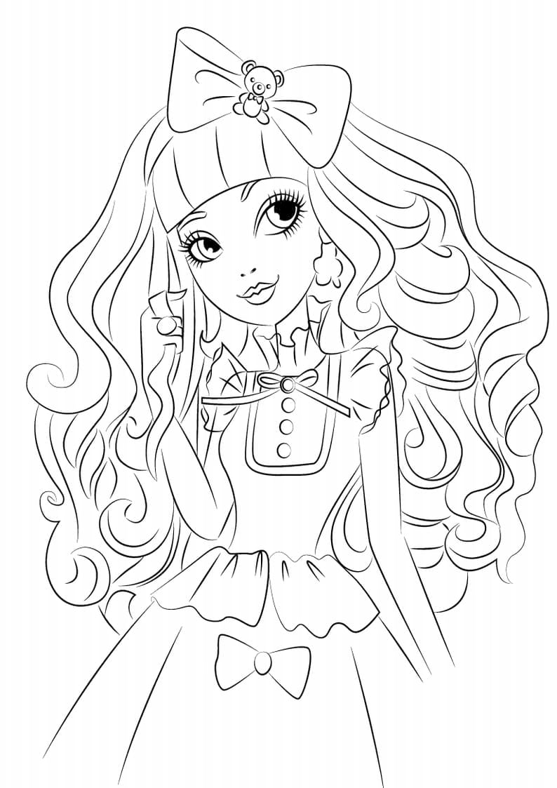 Liv And Maddie Coloring Pages  1929