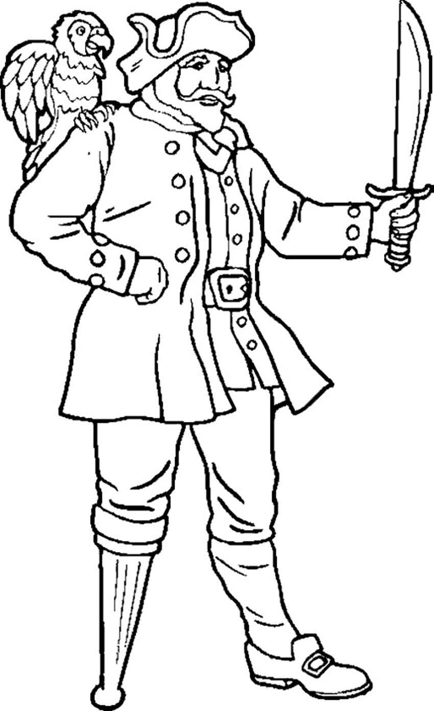 Quickly Pirate Coloring Pages To Print With Pictures Coloring