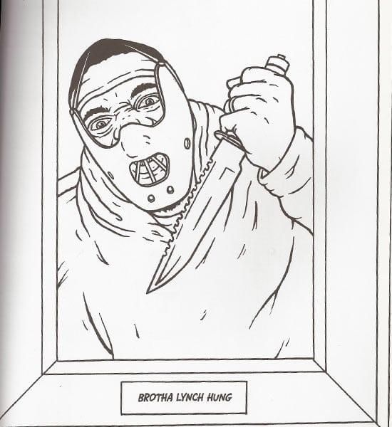 Gangster Rap Coloring Book