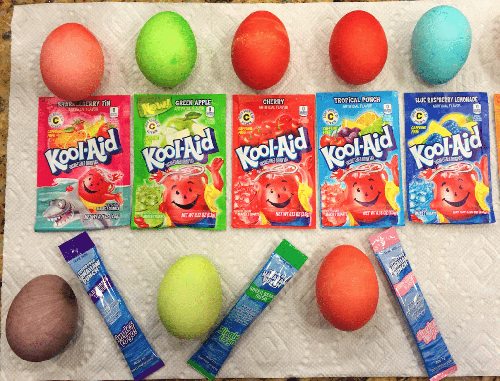 How To Color Easter Eggs & Save Money With Kool