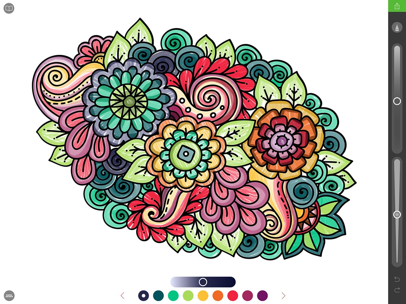 Screenshot Ui Default Best Coloring Book App For Full Sizes Using