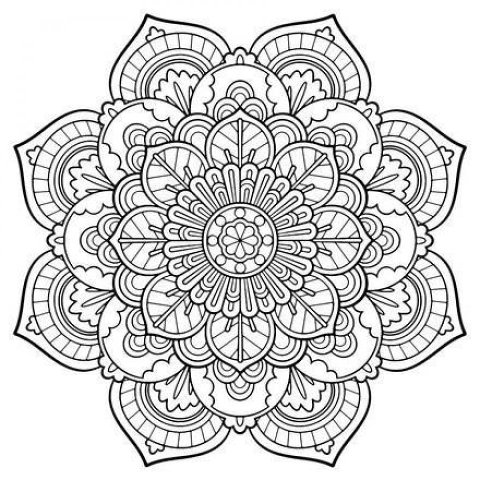 Sensational Ideas Free Mandala Coloring Pages For Adults Get This