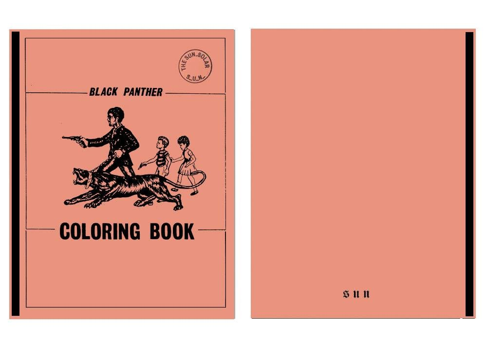 Black Panther Coloring Book