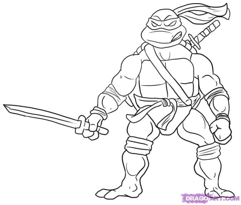 Valuable Design Ideas Tmnt Coloring Pages Teenage Mutant Ninja